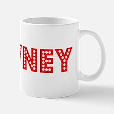Retro Downey (Red) Mug