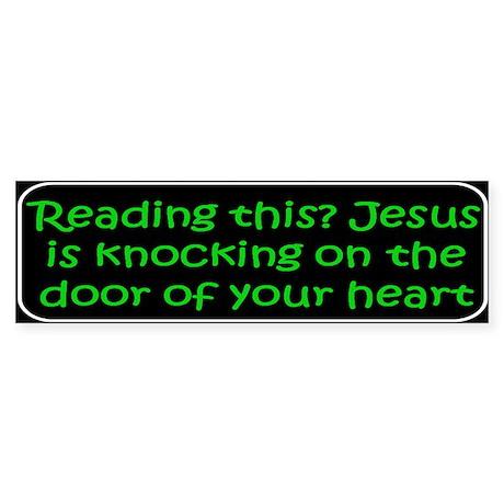 Christian saying Reading Bumper Sticker