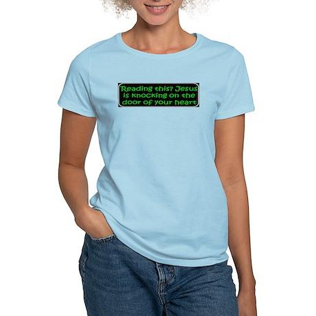 Christian saying Reading Women's Light T-Shirt