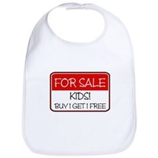FOR SALE: KIDS! (red) Bib