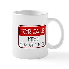FOR SALE: KIDS! (red) Mug