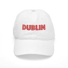 Retro Dublin (Red) Baseball Cap