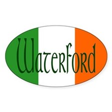 County Waterford Oval Decal