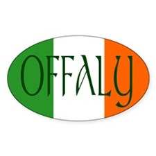 County Offaly Oval Decal