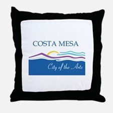 COSTA-MESA Throw Pillow