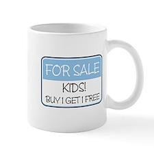FOR SALE: KIDS! (blue) Mug