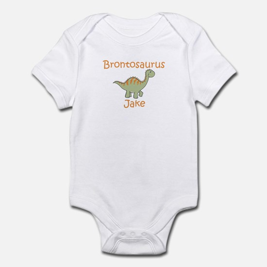 Brontosaurus Jake Infant Bodysuit
