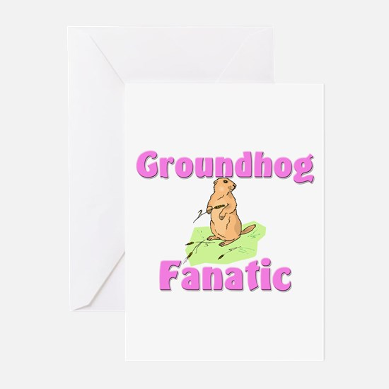 Groundhog Fanatic Greeting Cards (Pk of 10)
