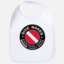 Dive Naked Bigger Under Water Bib