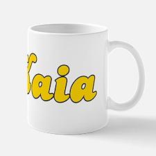 Retro Kaia (Gold) Mug