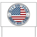 4th of July Souvenir Flag Yard Sign