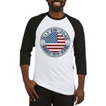 4th of July Souvenir Flag Baseball Jersey
