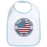 4th of July Souvenir Flag Bib
