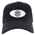 4th of July Souvenir Flag Black Cap