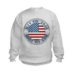 4th of July Souvenir Flag Kids Sweatshirt