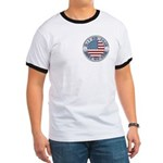 4th of July Souvenir Flag Ringer T