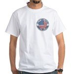 4th of July Souvenir Flag White T-Shirt