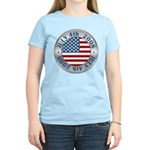 4th of July Souvenir Flag Women's Light T-Shirt