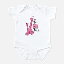 Giraffe Big Sis Infant Bodysuit