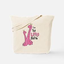 Giraffe Little Sis Tote Bag