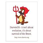 Darwin? Small Poster