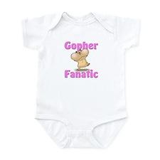 Gopher Fanatic Infant Bodysuit