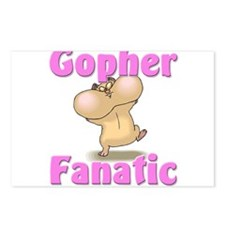 Gopher Fanatic Postcards (Package of 8)