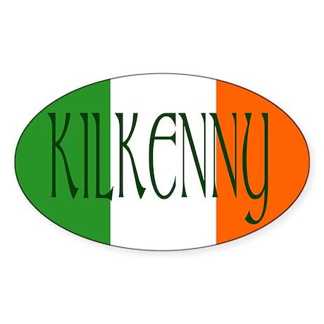 County Kilkenny Oval Sticker