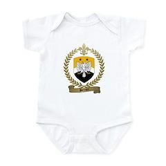 BERNIER Family Crest Infant Creeper