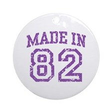 Made in 82 Ornament (Round)