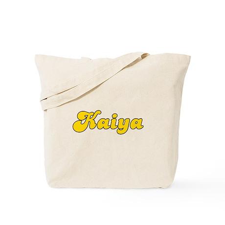 Retro Kaiya (Gold) Tote Bag