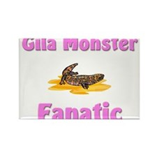 Gila Monster Fanatic Rectangle Magnet