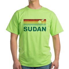 Retro Palm Tree Sudan T-Shirt