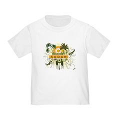 Palm Tree Sudan Toddler T-Shirt