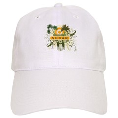 Palm Tree Sudan Baseball Cap