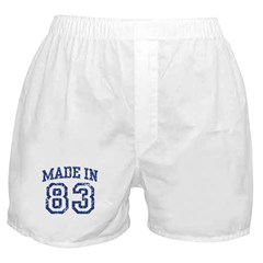 Made in 83 Boxer Shorts
