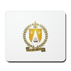 BAUCHER Family Crest Mousepad