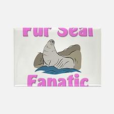 Fur Seal Fanatic Rectangle Magnet