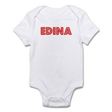 Retro Edina (Red) Infant Bodysuit