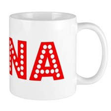 Retro Edina (Red) Mug
