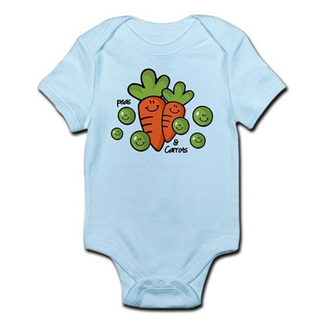 Peas And Carrots Infant Bodysuit