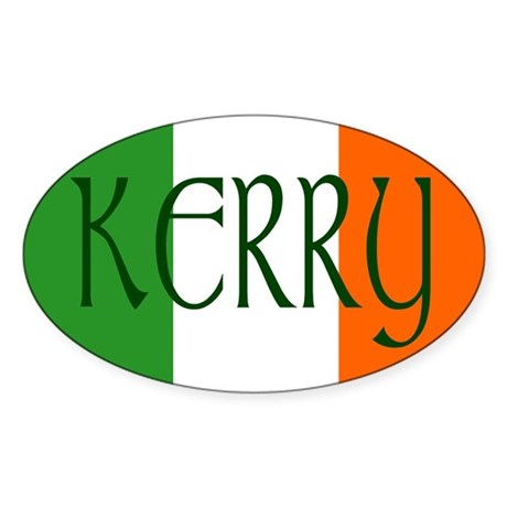 County Kerry Oval Sticker