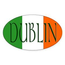 Dublin Oval Stickers