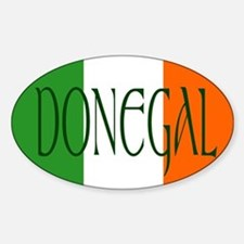 County Donegal Oval Decal