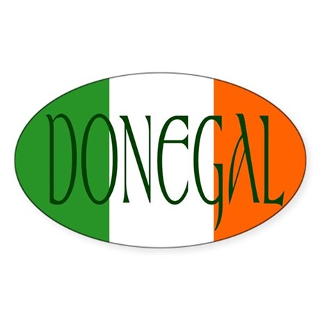 County Donegal Oval Sticker
