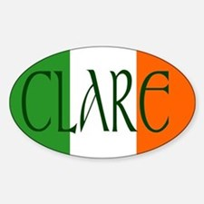 County Clare Oval Decal