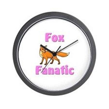 Fox Fanatic Wall Clock