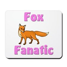Fox Fanatic Mousepad