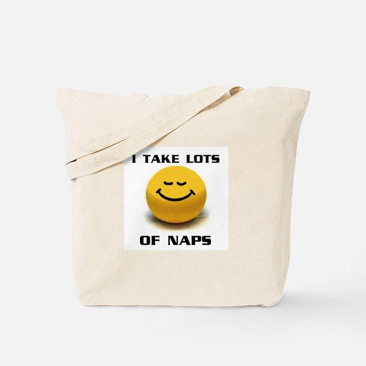 SMILEY NAPS Tote Bag