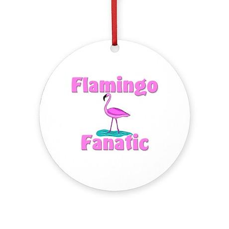 Flamingo Fanatic Ornament (Round)